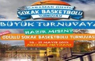 Basketbol Heyecani Bu Kez Sokakta Yasanacak