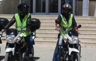Sariveliler Belediyesi Araç Filosuna Dört Adet Motosiklet...