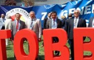 Karaman Ticaret Borsasi TOBB 71. Genel Kuruluna Katildi...