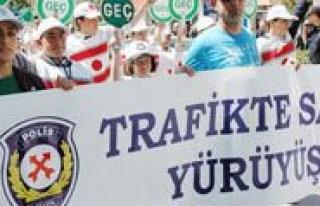 Trafikte Saygi Yürüyüsü Yapilacak