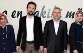 Biftek Üyelerinden Prof. Dr. Mehmet Karatas'a Ziyaret