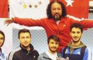 KMÜ Taekwondo Takimindan Büyük Basari