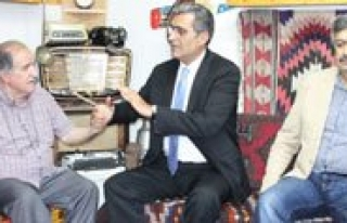 Milletvekili Konuk'tan Kgrt'ye Ziyaret