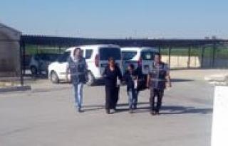 Karaman'da Kadin Hirsizlar Tutuklandi