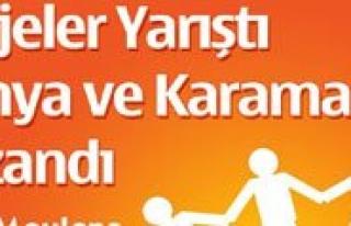 Projeler Yaristi Konya Ve Karaman Kazandi