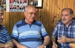 Ikev Sekreteri Toker'den KGRT'ye Ziyaret