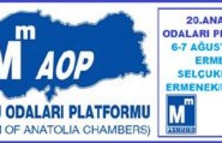 20.Anadolu Odalari Platformu Ermenek`te Düzenlenecek