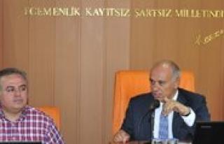 Milletvekili Recep Seker Belediye Meclisini Ziyaret...