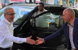 Lütfi Elvan Karaman Belediyesi'ni Ziyaret Etti
