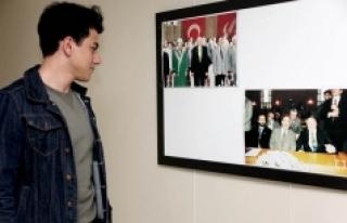 KMÜ'de Necmettin Erbakan'ı Anma Sergisi Düzenlendi