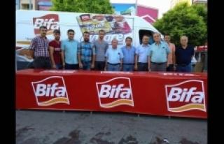 Bifa Bisküvi, Tek Ses Olan Karaman Halkı İle Beraber