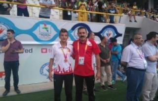 Karamanlı Atlet Berat Ergil Olimpiyat Üçüncüsü...