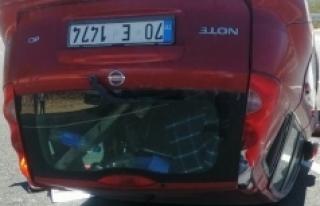 Mut'ta Otomobil Takla Atıp Ters Döndü: 1 Hemşerimiz...