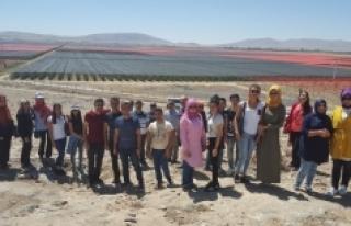 Stajyer Öğrencilere Teknik Gezi