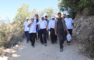 Bakan Elvan, Doğa Yürüyüşüne Katıldı