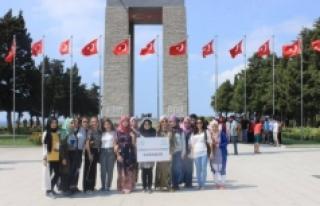 Karaman Gençlik Merkezi Üyelerinden Çanakkale'ye...