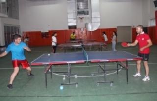 Masa Tenisi'nde Yeni Sezon Hazırlıkları Devam...