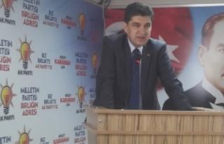 AK Parti İl Başkanı Nazmi Ünlü: PKK'nın İşlediği...