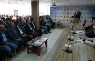Ak Parti Ekim Ayı İl Danışma Meclisi Toplantısı...