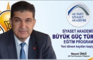 AK Parti Siyaset Akademisi 'Büyük Güç Türkiye'...