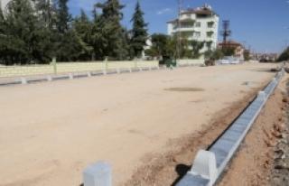 Alparslan Türkeş Bulvarında Çalışmalar Devam...