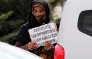 Dilencilik Yapan Suriye Uyruklu 3 Şahısa İşlem...
