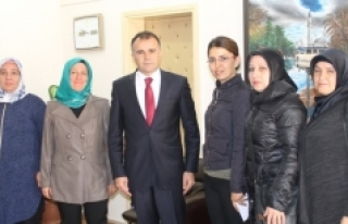 Hamza Anaç İlkokulu Okul Aile Birliğinden Sultanoğlu'na...