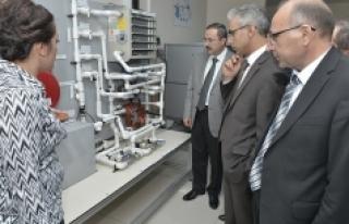 KMÜ Enerji Ve Ölçüm Ar-Ge Laboratuvarları Açıldı