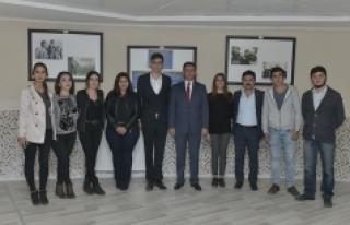 KMÜ'de 29 Ekim Cumhuriyet Fotoğraf Sergisi Düzenlendi
