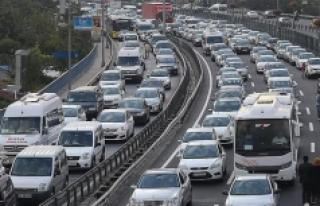 Motorlu Taşıt Sayısı Bir Yılda 3 Bin 359 Adet...
