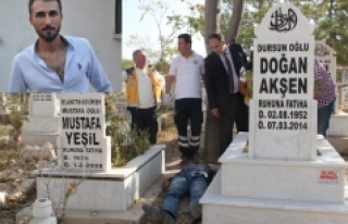 Uzman Çavuş, Dedesinin Mezarının Başında Canına...