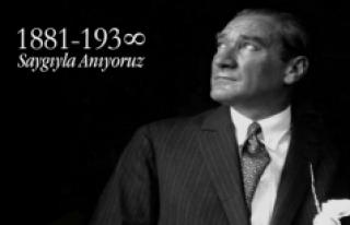 Atatürk, Ölümünün 78. Yılında Anılacak