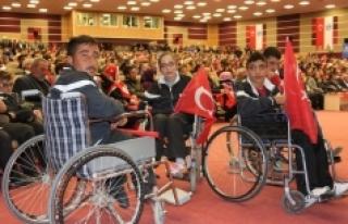Bedensel Engelli Sporcular 15 Temmuz Kahramanlarını...