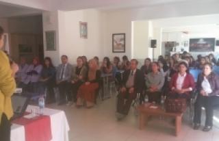 Halk Sağlığı Ekipleri En Uzak Köyde Eğitim Verdi