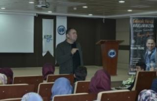 Hasan Yıldız KMÜ'de Gençlerle Buluştu