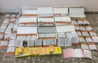 Jandarma, Kaçak Tütün Ve Tütün Malzemeleri Ele...