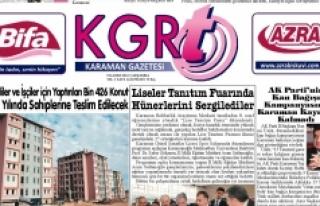 KGRT Karaman Gazetesi 4 Yaşında