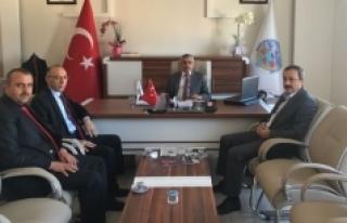 KMÜ'den Kazımkarabekir Belediye Başkanına...