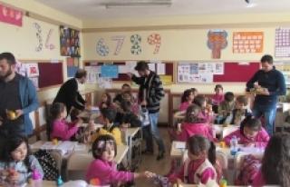 KMÜ'den Ermenek'teki Minik Öğrenciler İçin...