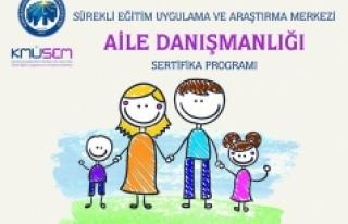 KMÜ'de Aile Danışmanlığı Kursuna Başvurular...