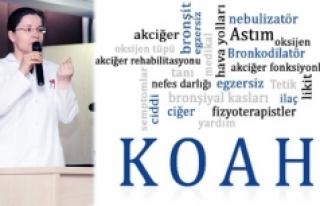 KOAH'tan Korunmak İçin Bilgilenin Konferansı