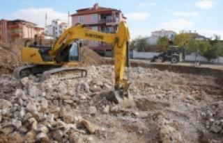 Osman Gazi Mahallesi Hanımlar Lokali'nde Çalışmalar...