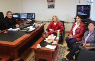 Türk Kadınlar Birliğinden Bifa'ya Ziyaret