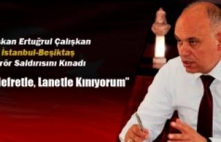 Belediye Başkanı Ertuğrul Çalışkan'dan İstanbul-Beşiktaş...