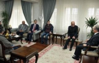 Engelli Gençlerden Vali Tapsız'a Ziyaret