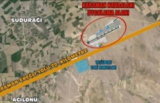 """Karaman Havalimanı """"Yatırım Programına""""..."""