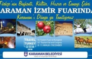 Karaman Belediyesi İzmir Fuarında Karaman'ı Tanıtacak