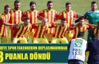 Karaman Belediyespor İskenderun Deplasmanından 3...