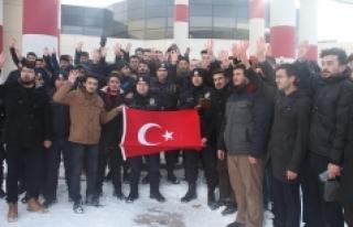 KMÜ Öğrencilerinden Halep'e İlişkin Basın...