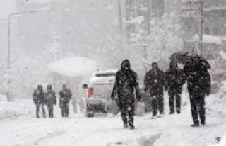 Meteoroloji'den Kuvvetli Ve Yer Yer Yoğun Kar Yağışı...